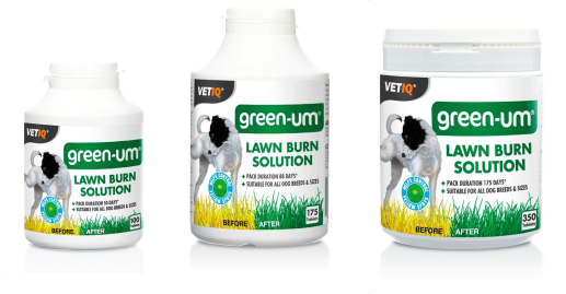Lawn Burn Solution - Green-UM