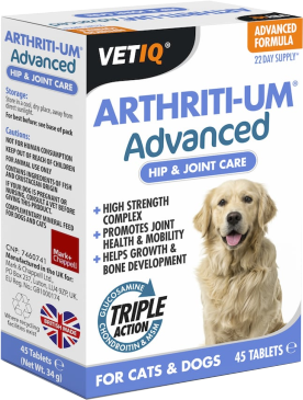 Canine Arthritis - Arthriti-UM Advanced - Senior Pet - Mark + Chappell