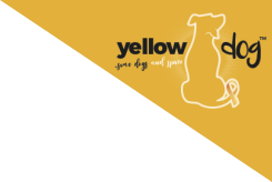 yellow dog corner badge
