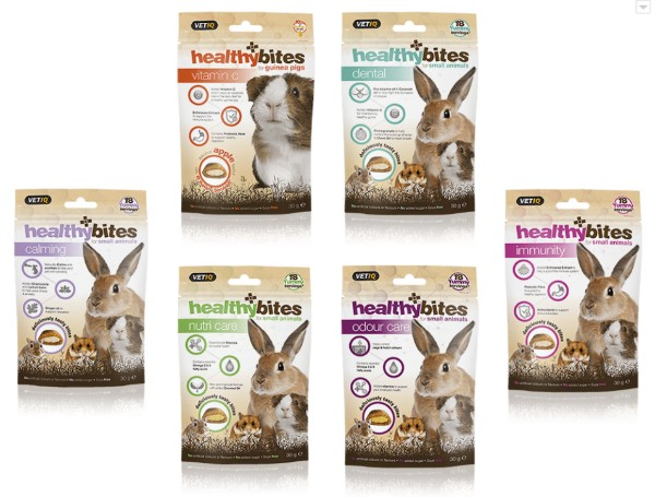Healthy Bites Range for Small Pets - Mark + Chappell