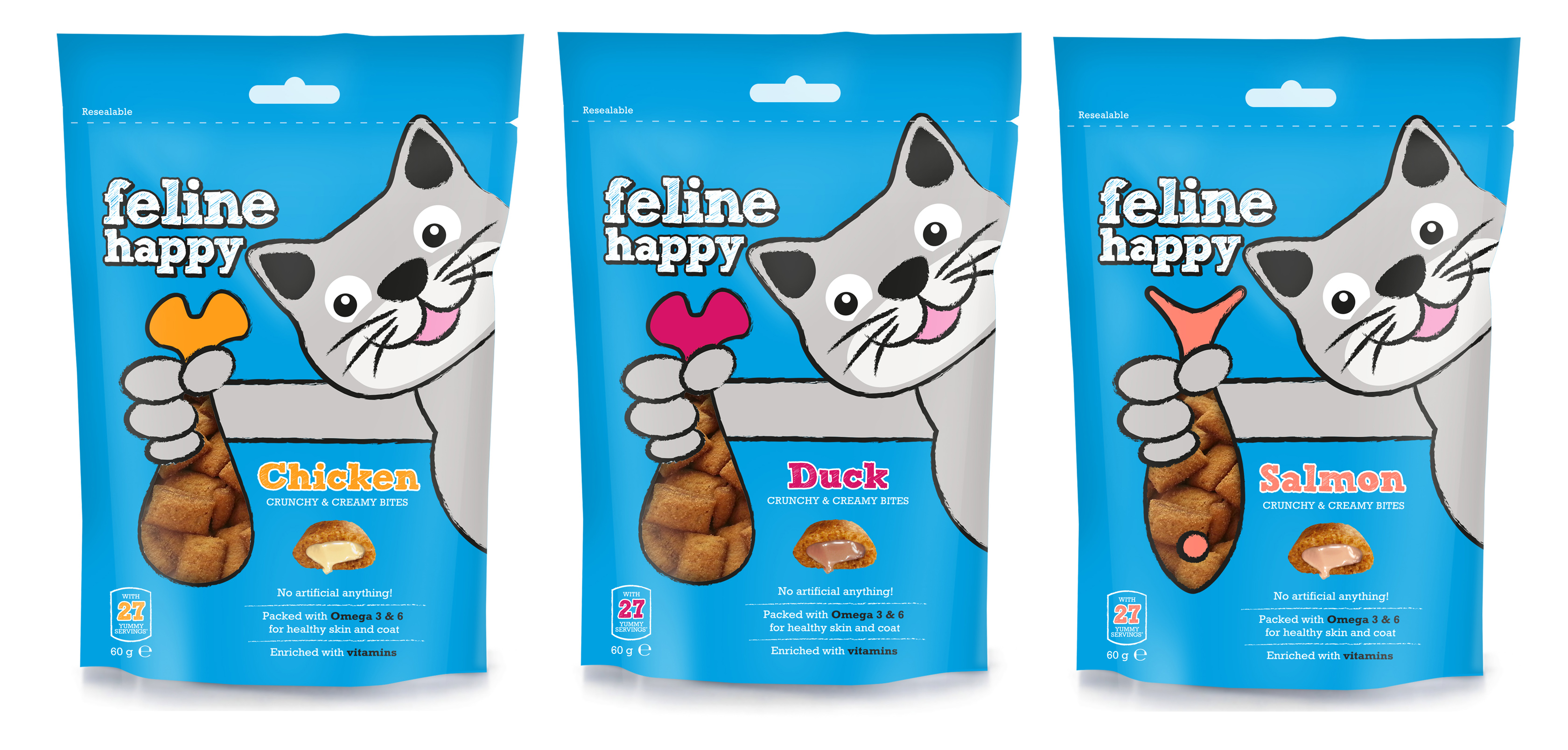 Feline Happy Range