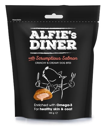 Alfie's Diner Salmon - Mark and Chappell