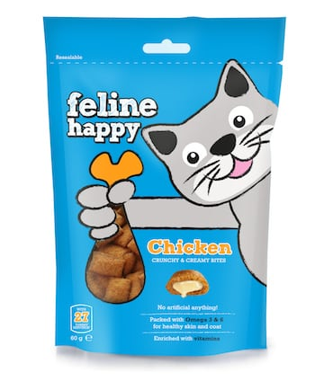 Feline Happy Chicken - Mark and Chappell