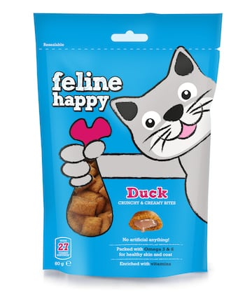 Feline Happy Duck - Mark and Chappell