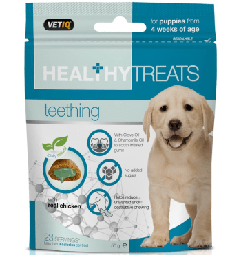 Healthy Treats Teething – Mark and Chappell