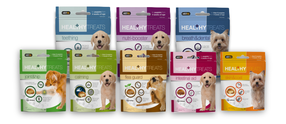 Healthy Treats Range