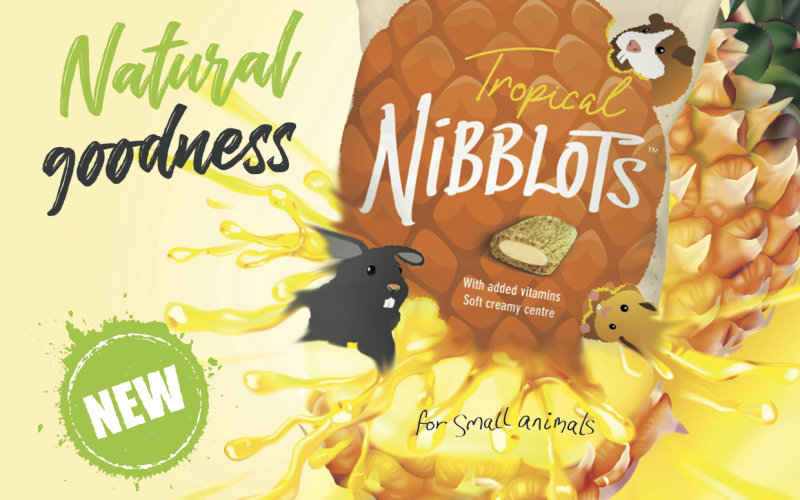New Tropical Flavour to the Delicious Nibblots Range